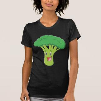 T-shirt Sourire végétal de brocoli heureux