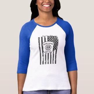 T-shirt Soutenez votre logo bleu