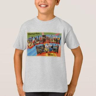 T-shirt Souvenir de voyage du Massachusetts mA de plage de