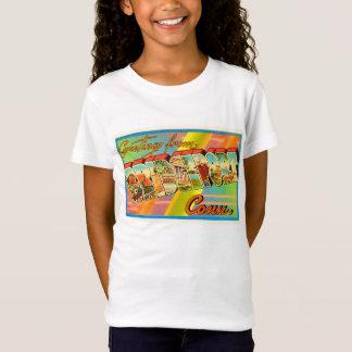 T-Shirt Souvenir vintage de voyage de Bridgeport le