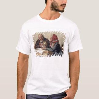 T-shirt Souvenirs affectueux (huile sur la toile)