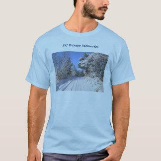 T-shirt Souvenirs d'hiver de Sc