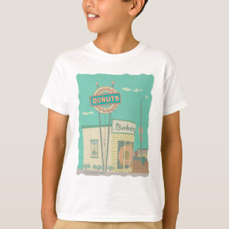 T-shirt Souvenirs Magasin- Route 66 de beignet