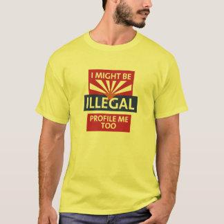 T-shirt Soyez l'Arizona illégal