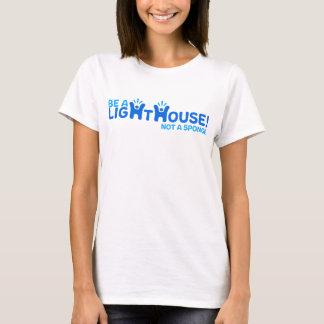 T-shirt Soyez un phare pas une éponge - Heureux-je