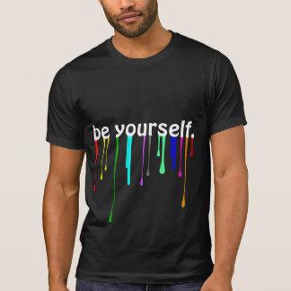 T-shirt Soyez vous-même T-Gris