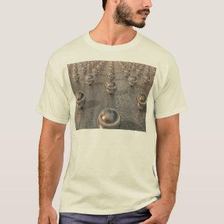 T-shirt Sphères argentées
