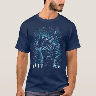 T-shirt Spiritueux pendant la nuit