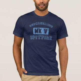T-shirt Spitfire de Supermarine - BLEU