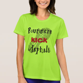 T-shirt Sport-Tek solides solubles d'asphalte de