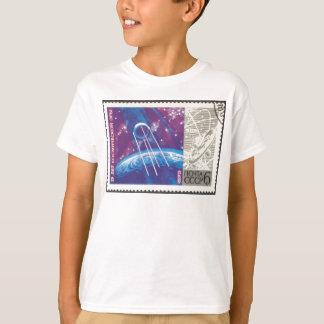 T-shirt Spoutnik 1 15 ans de science de l'espace de Russe