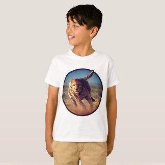 T-shirt Sprinter l'illustration de guépard