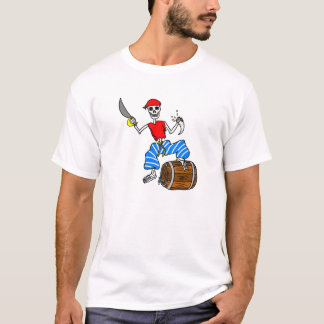 T-shirt Squelette de pirate