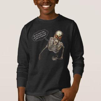 T-shirt Squelette drôle de comédien comique