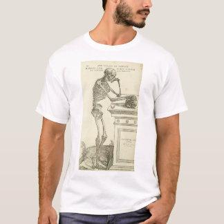 T-shirt Squelette vintage d'Andreas Vesalius d'anatomie