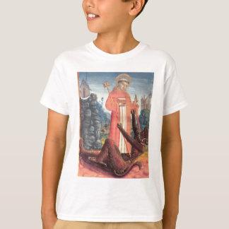 T-shirt St Bernard surmonte le diable