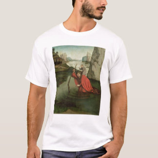 T-shirt St Christopher portant l'enfant du Christ
