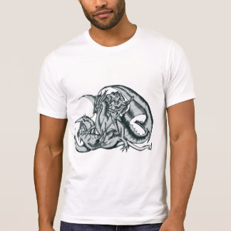 T-shirt St. George and the dragon