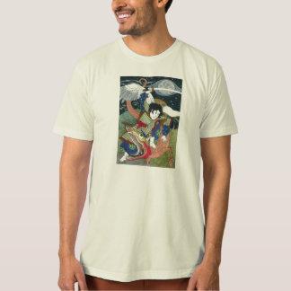 T-shirt St George et le dragon - icône japonaise