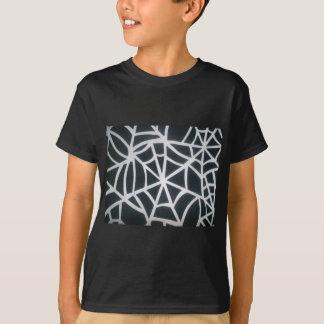 T-shirt St noir et blanc de rayures blanches et noires de