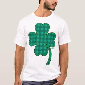 T-shirt St Patrick : Feuille chanceuse