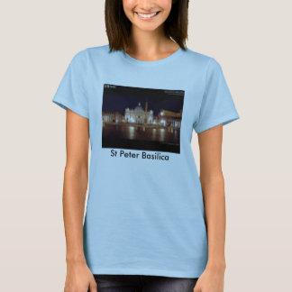 T-shirt st_peter_black_prewa, basilique de St Peter