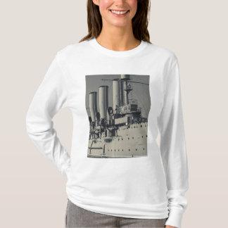 T-shirt St Petersbourg, l'aurore 2 de croiseur