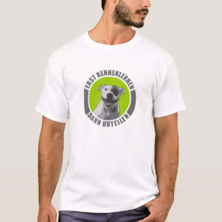 T-shirt Staffordshire Bullterrier