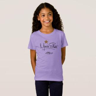 T-Shirt Star de cinéma d'enfants de studios de Hollywood