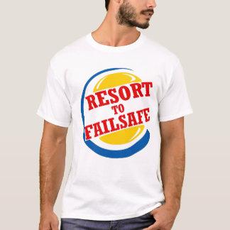 T-shirt Station de vacances à de sécurité
