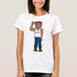 T-shirt Statue de fanatisme ; DÉFI