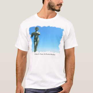 T-shirt Statue pour Gaspar de Portola, Barcelone