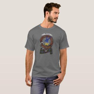 T-shirt Stirling d'adulte d'insigne de clan de Cadder