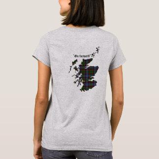 T-shirt Stirling des femmes de clan de Cadder