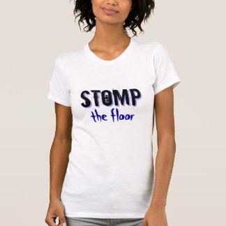 T-shirt Stom le plancher