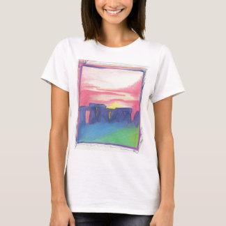 T-shirt Stonehenge tiennent le premier rôle d'abord l'art