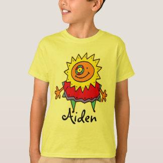 T-shirt Style comique de DAME ENSOLEILLÉE + votre backgr.