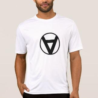 T-shirt Style comique de Voluntaryist - symbole de base