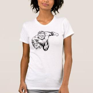 T-shirt Style comique - sonnez dans l'avant, noir et blanc