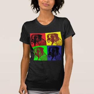T-shirt Style d'art de bruit de chien de boxeur