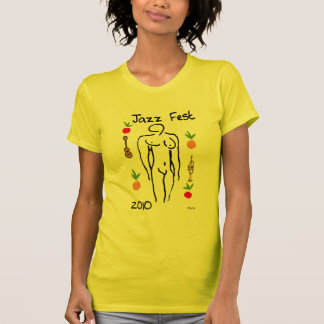 T-shirt Style de Matisse de Fest de jazz