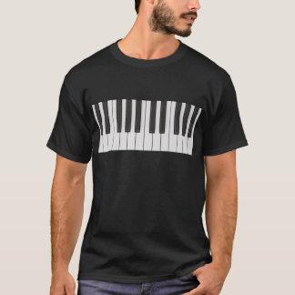 T-shirt Style de piano