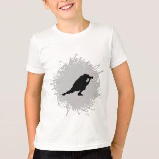 T-shirt Style de Scrible de photographie