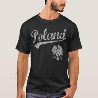 T-shirt Style de sport de la Pologne