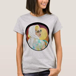 T-shirt style frais de la chemise 60s d'illustration de
