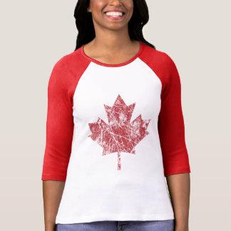 T-shirt Style grunge canadien CANADA de feuille d'érable