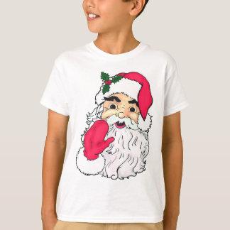T-shirt Style vintage ondulant le père noël