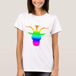 T-shirt Subordonné d'arc-en-ciel