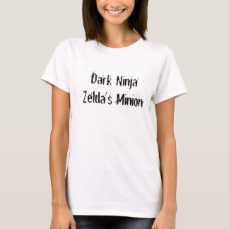 T-shirt Subordonné foncé de Ninja Zelda