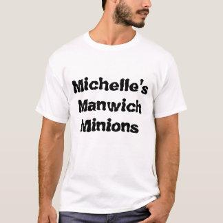 T-shirt Subordonnés de Manwich de Michelle